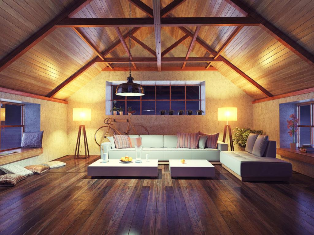 Emotion - Licht Dach Wohnbereich