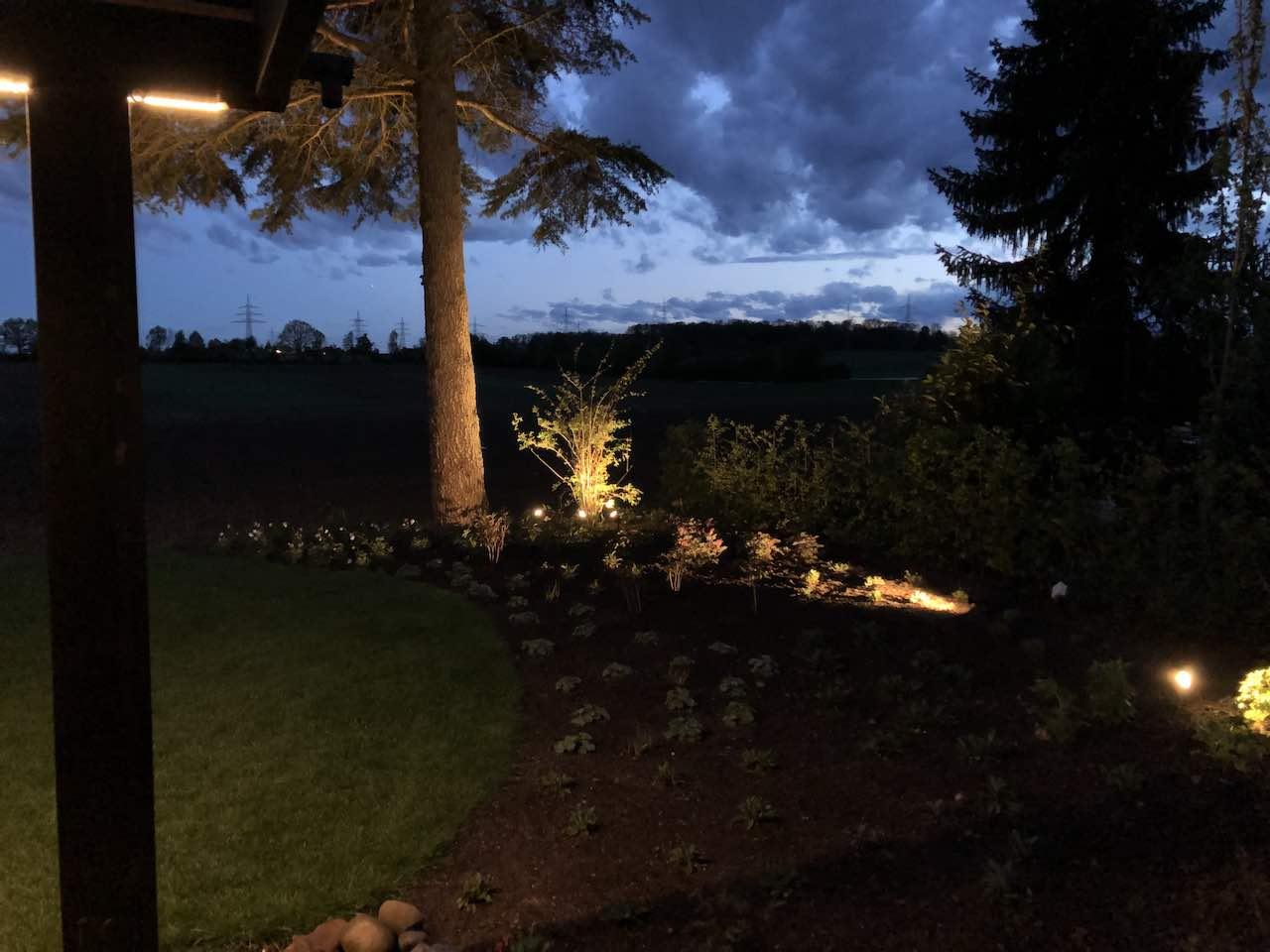 Lichtplanung Garten