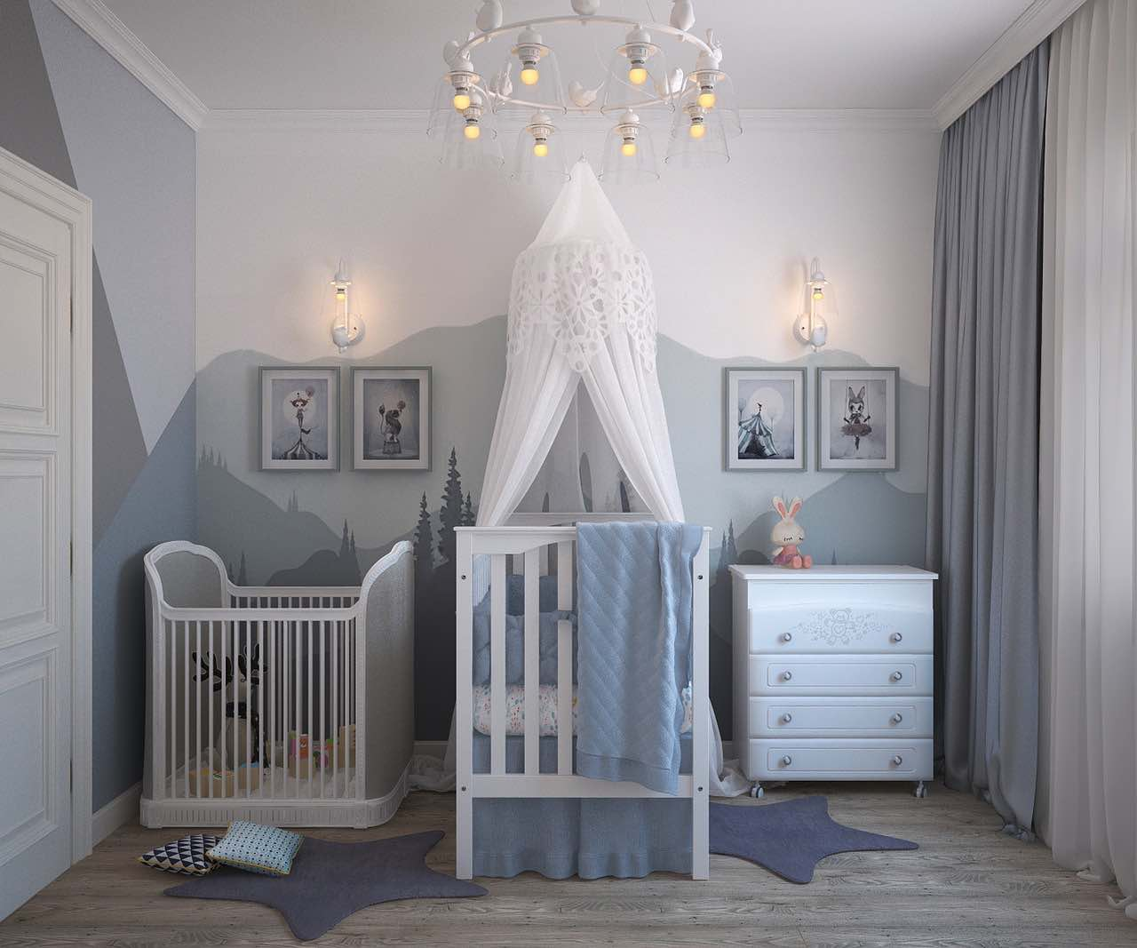 Kinderzimmerbeleuchtung