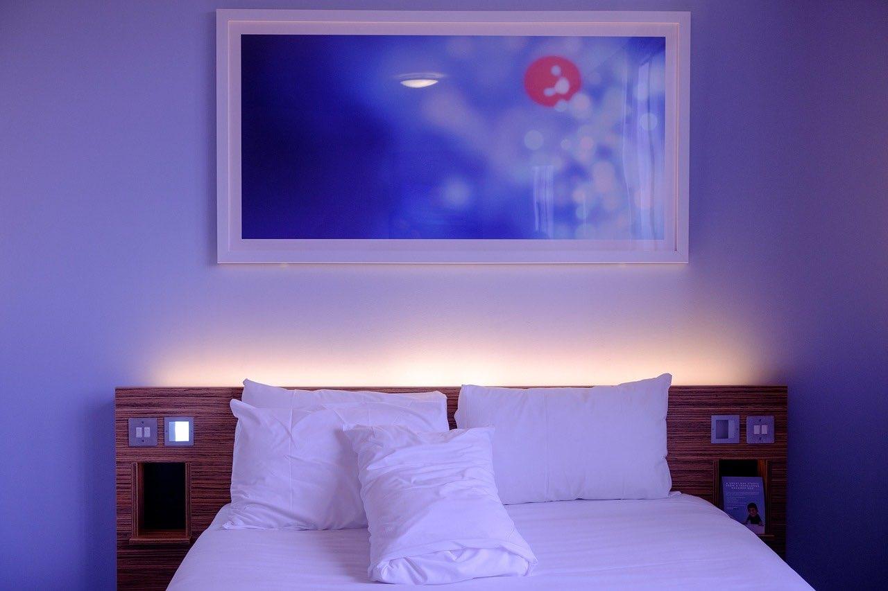 Hintergrundbeleuchtung Schlafzimmer