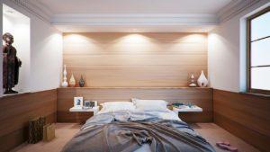 Schlafzimmerwand Hinterbeleuchtet