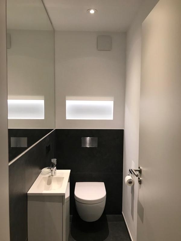 Beleuchtung WC
