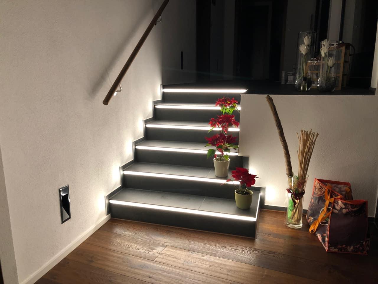 Treppenstufenbeleuchtung