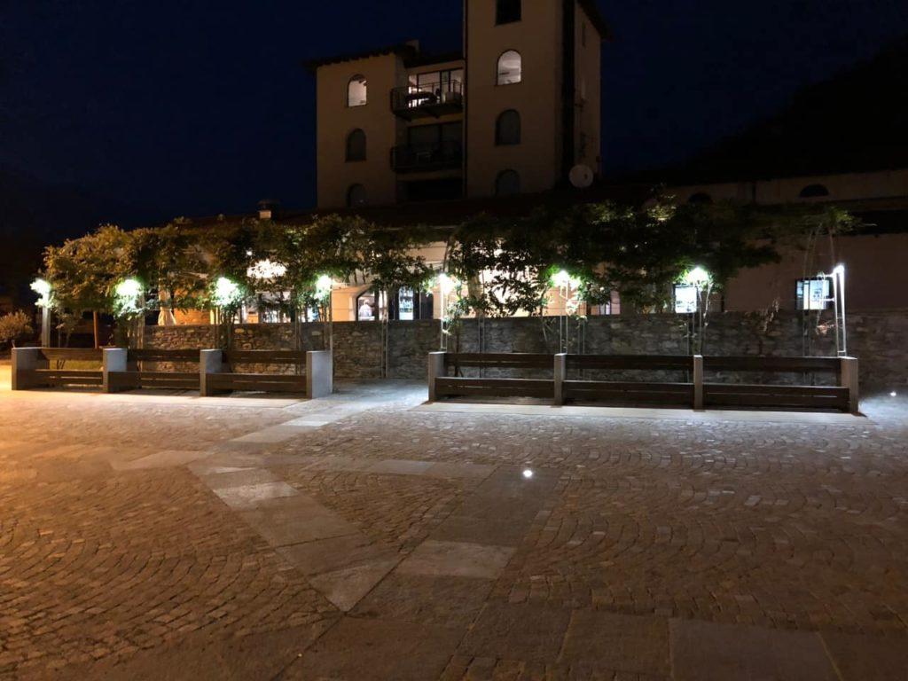 Lichtplanung Aussenanlage Nizza