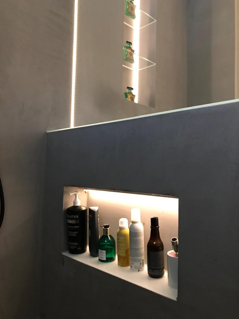Duschfachbeleuchtung