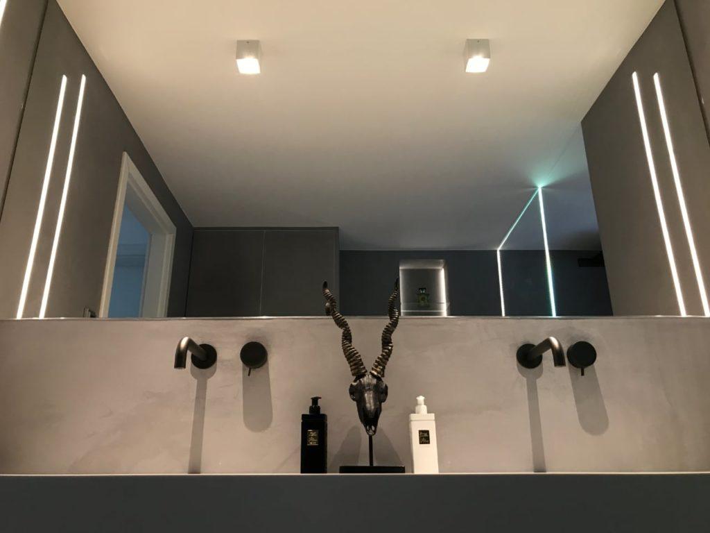 Badbeleuchtung