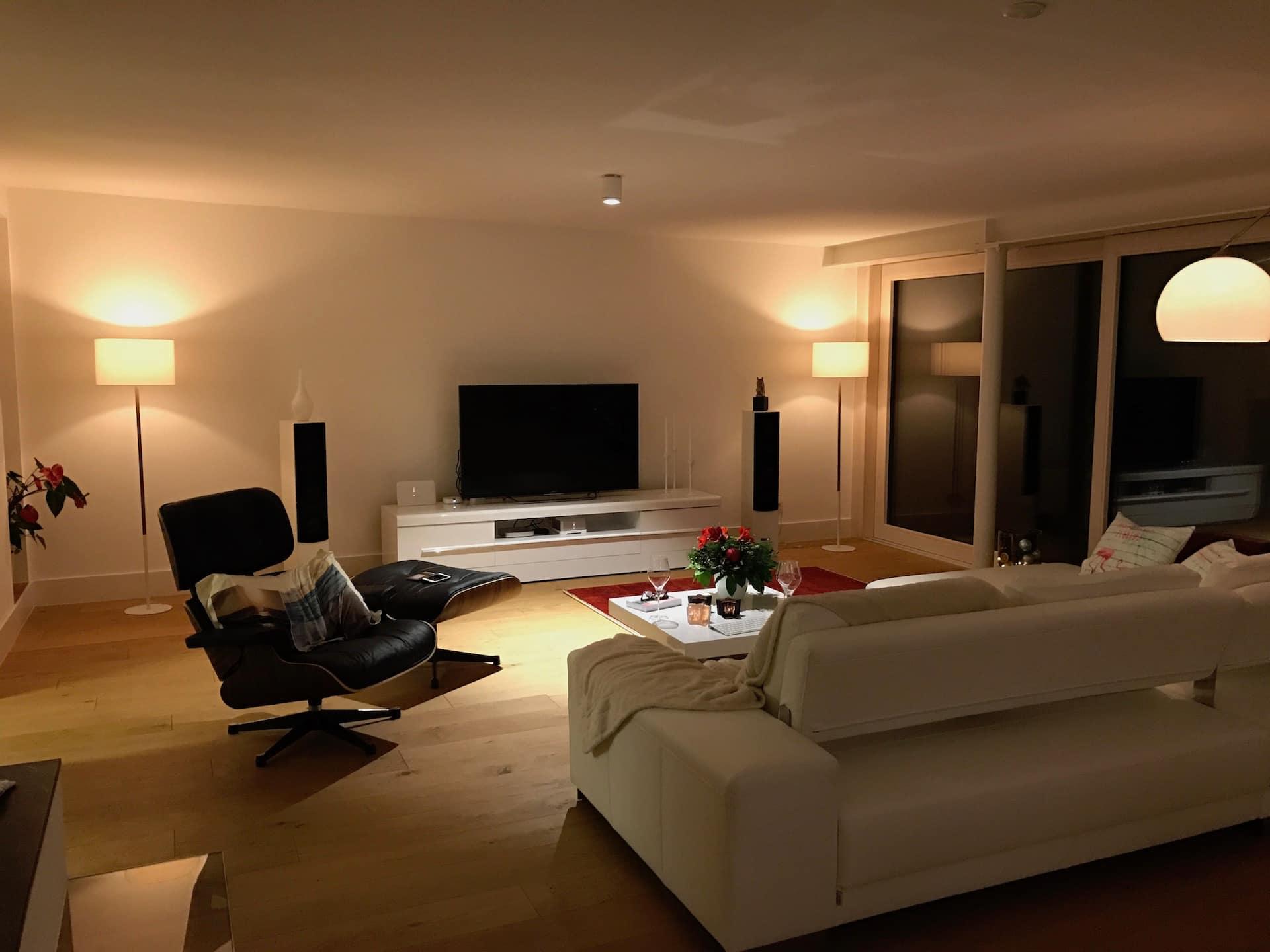 Lichtplanung wohnzimmer