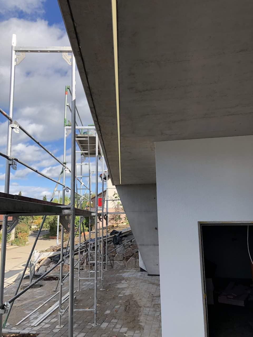 Außenbeleuchtung Garage