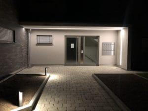 Hauseingang LED Linie