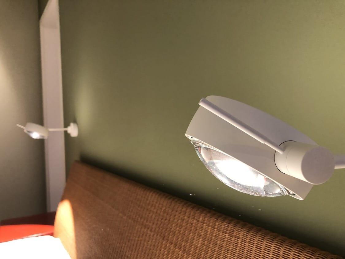Occhio Bettkopfbeleuchtung