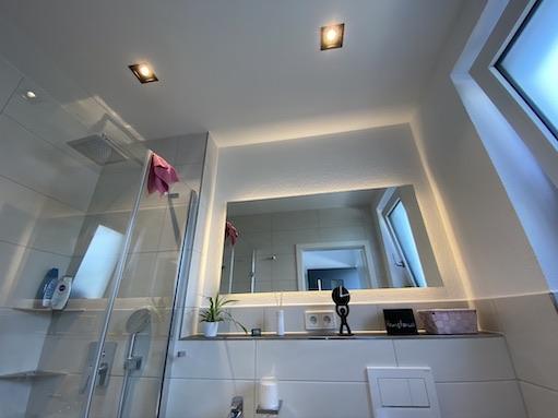 Gäste WC Beleuchtung