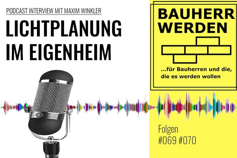 Bauherr Werden Podcast Interview Lichtplanung Fabian Krämer