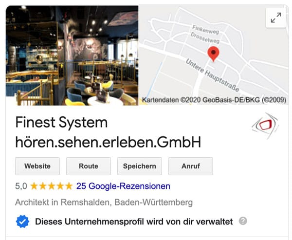 Bewertungen Google Business - Fabian Krämer